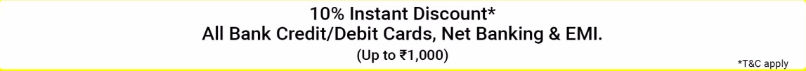 Debit Card and Credit Card offer on Flipkart