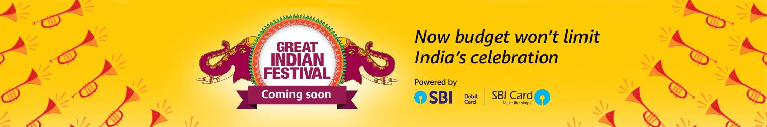 Amazon Great India Festive Sale 2018