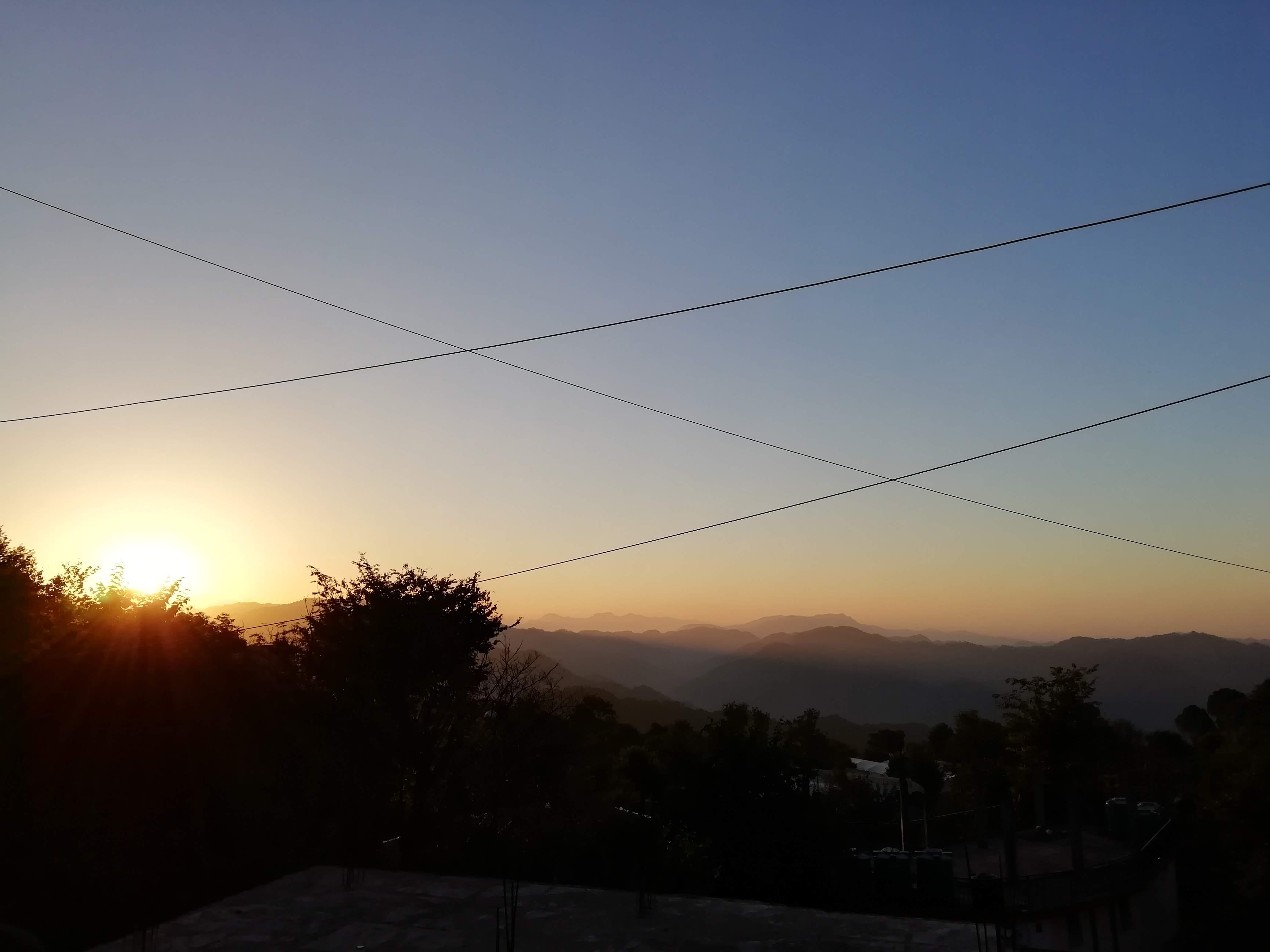 Sunrise View in Kasauli - Popular-in-India.com