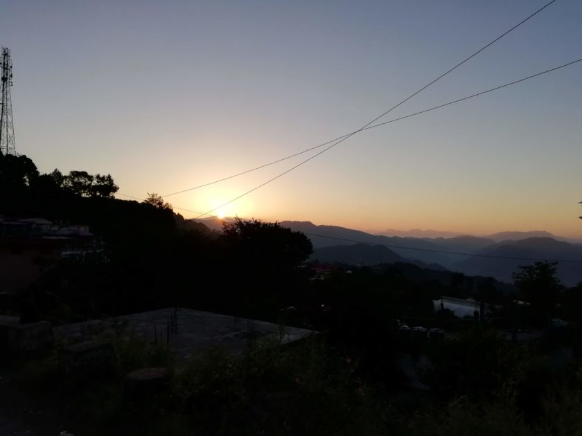 Sunrise View in Kasauli