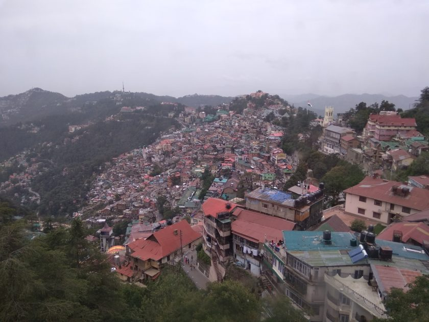 Trolley View Shimla