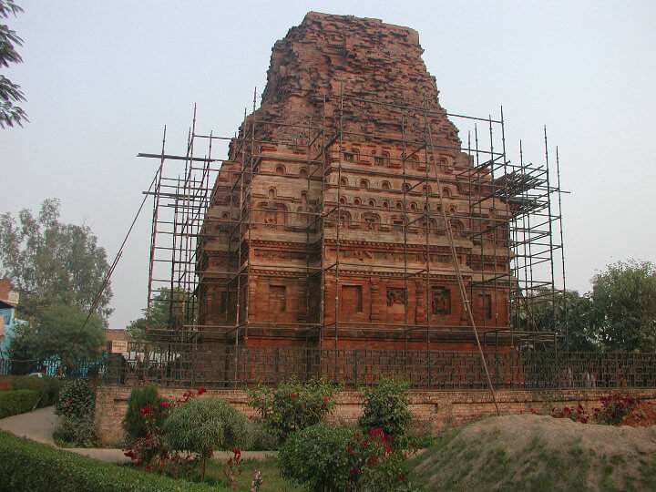 Brick Temple Bhitargaon Temple