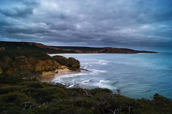 Great Ocean Road Landmark Sky Clouds Australia