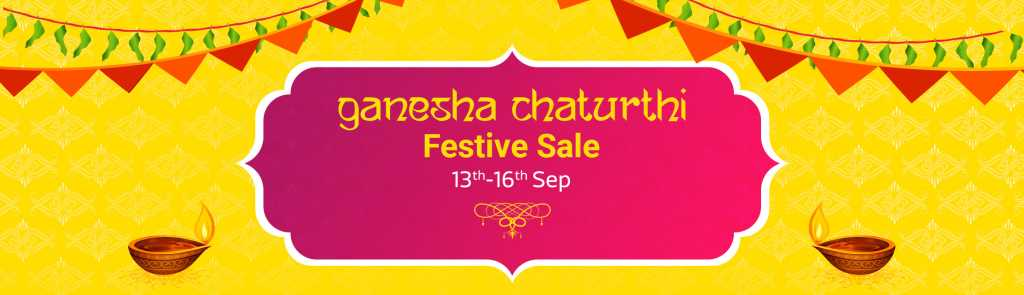 Ganesh Chaturthi Sale 2018