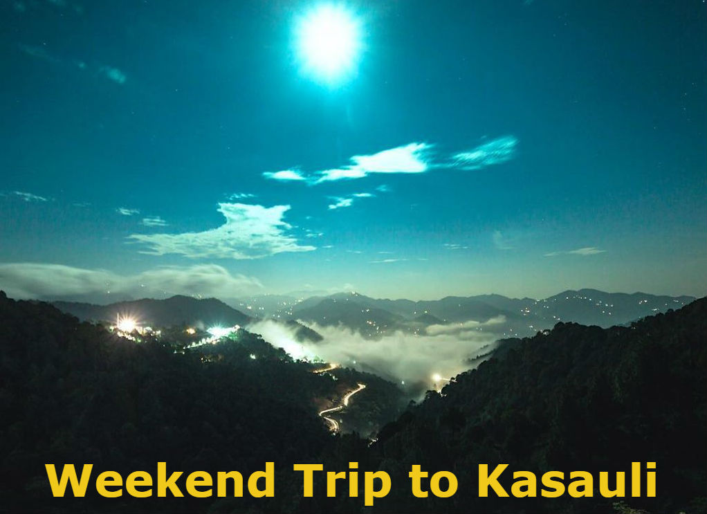 Weekend Trip To Kasauli from Delhi