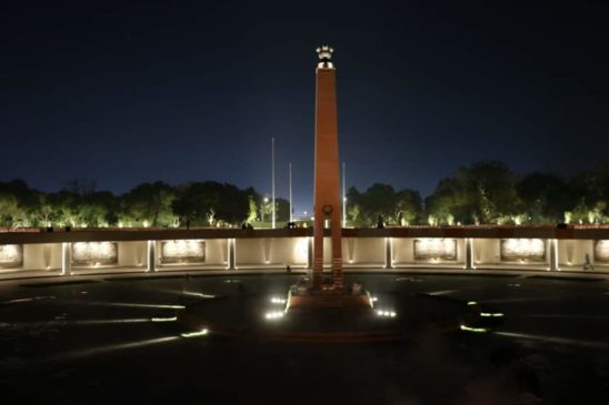 National War Memorial in Night