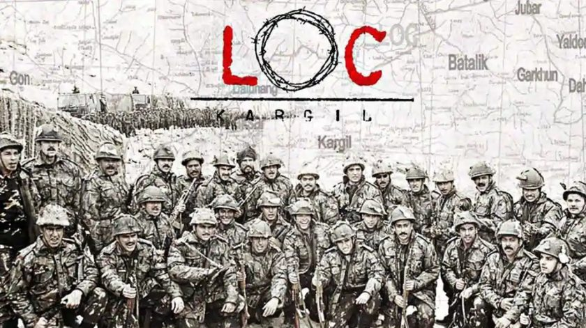 LOC Kargil - one of the War movies of Bollywood popular in India