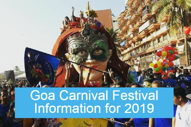 Goa Carnival 2019 Information, Dates and Venue