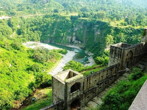 Kangra Fort : The Largest and oldest fort in the Himalaya of India