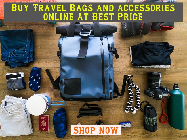 Buy Travel bags and accessories online at low prices in India