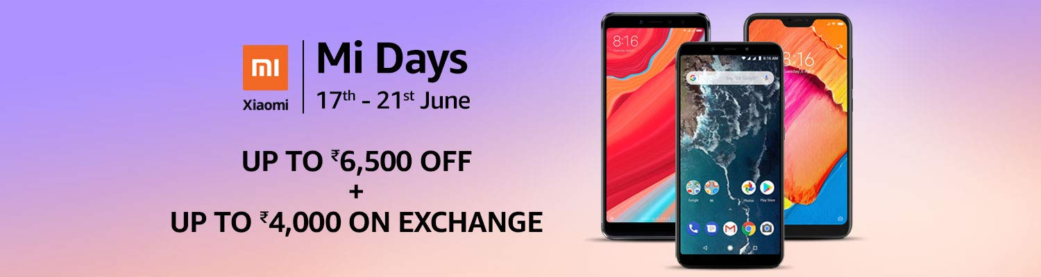 Xiaomi MI Days Offers on Amazon India