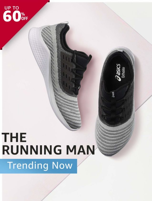 Prices of Running Shoes On Amazon India