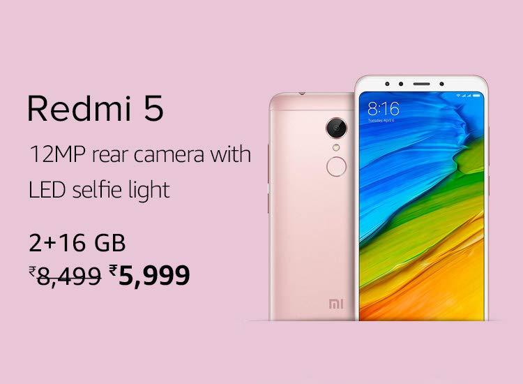 Xiaomi smart Phones under Rs 8000