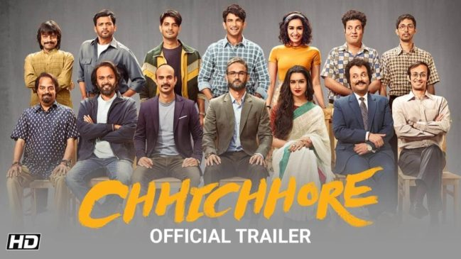 Chhichhore  9th most popular movie in India in 2019
