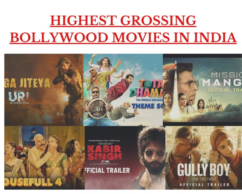 Highest Grossing Bollywood Movies in India