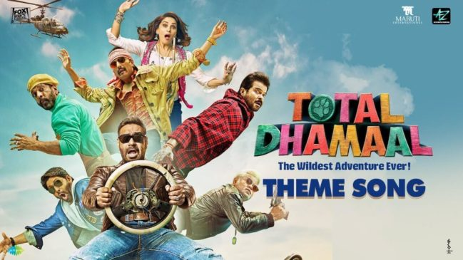 Total Dhamal 8th most popular bollywood movie in 2019