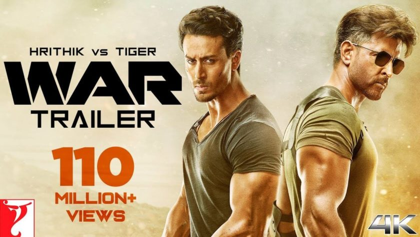 Bollywood Movie War 2019 popular in India