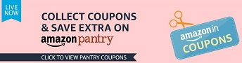 Coupons Amazon Pantry popular in India
