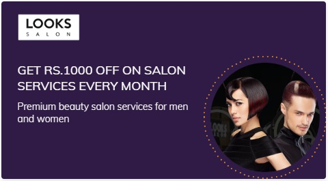 Get Looks Salon Services Every Month membership on times prime membership subscription popular in India
