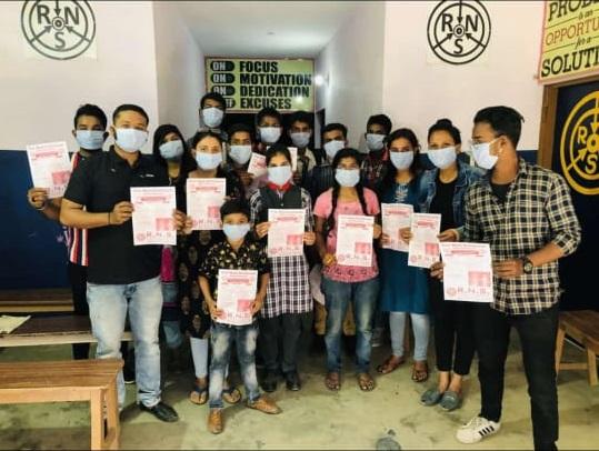Distributed Masks for Free @ RNS Coaching Center Gorakhpur