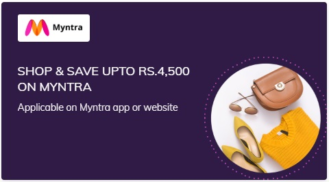 Save up to Rs. 4500 on Myntra  on Times Prime Subscription popular in India