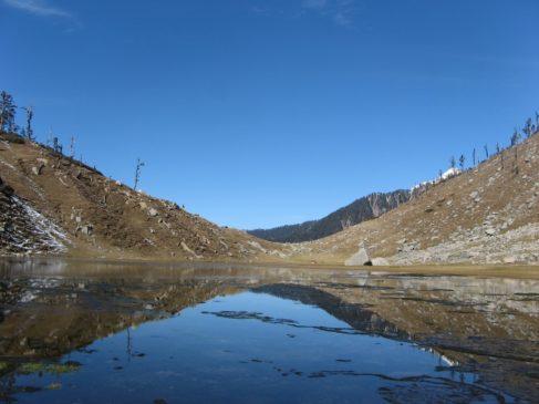 Kareri Lake in Himachal Pradesh