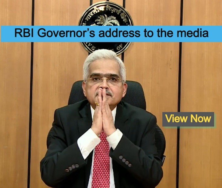 RBI Governor's address to media- Seventh Bi-monthly Monetary Policy Statement, 2019-20-fight-corona