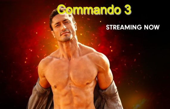 Commando 3 : Must Watch Top Trending Movies and web series on Zee5