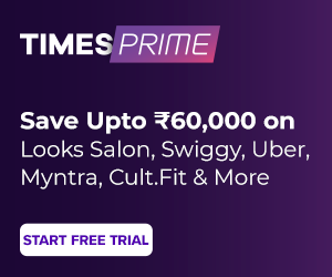 20% discount on Times Prime Subscription - Popular in India