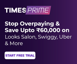 Times Prime Membership Subscription with 20 percent Immediate discount popular in India