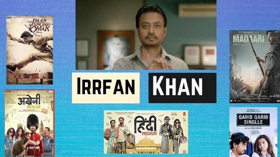 Bollywood Actor Irrfan Khan