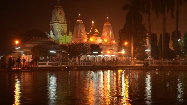 Gorakhnath Temple in Night