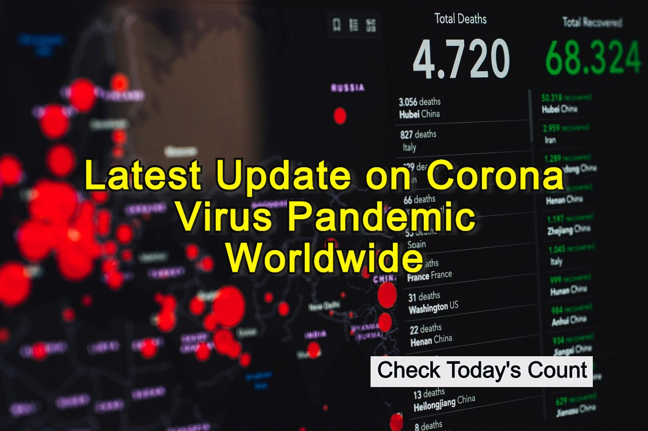 Latest Update on Corona Virus Pandemic