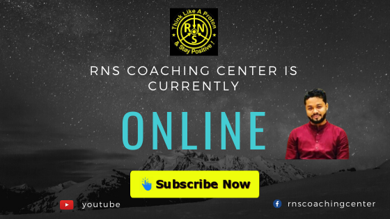 RNS Coaching Center Gorakhpur is Now Online