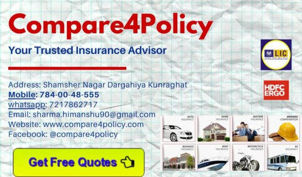 Best Insurance Advisor Compare4policy