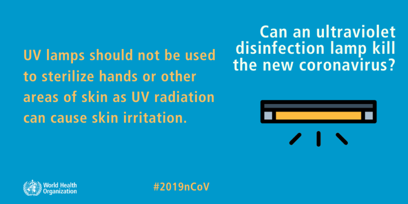 Can an ultraviolet disinfection lamp kill the new corona virus?  popularinindia