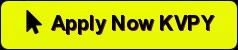 Official Online Application form Link of KVPY 2020 popularinindia