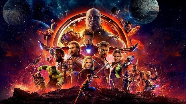 Avengers: Infinity War one of the Top 10 High Grossing and Popular Hollywood Movies in India