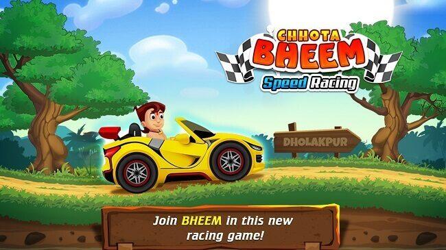 Chhota Bheem Speed Racing Amazon Bestsellers - Free Online Gaming Apps
