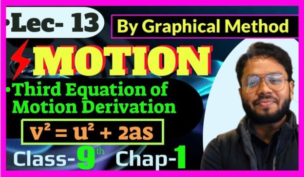 YouTube Lecture on Motion topic speed by RNS Coaching Center