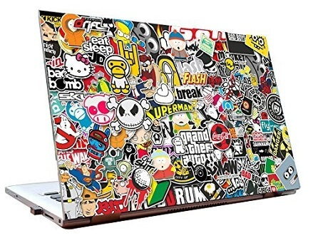 Best Sellers Laptop skins on Amazon India