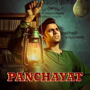 Panchayat Indian Web Series on Amazon Prime Popular in India
