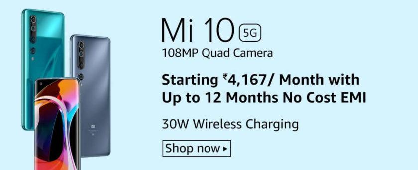 Xiaomi SmartPhone Brand Redmi Mi 10 5G