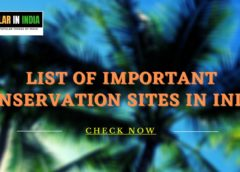 List of Important Conservation Sites in India