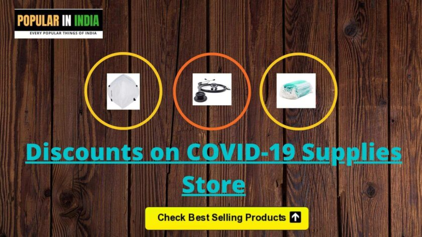 Discounts on Covid19 supplies popular in India