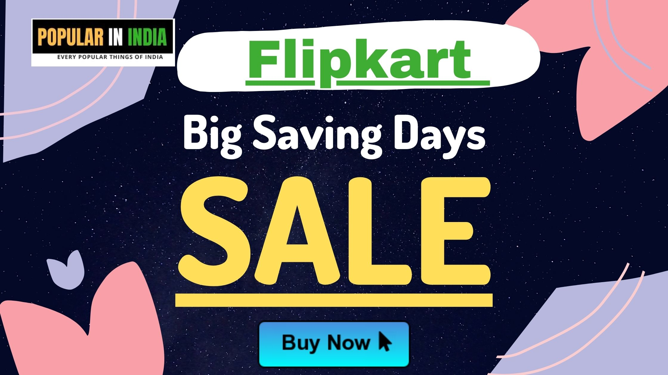 Flipkart big saving day sale offer