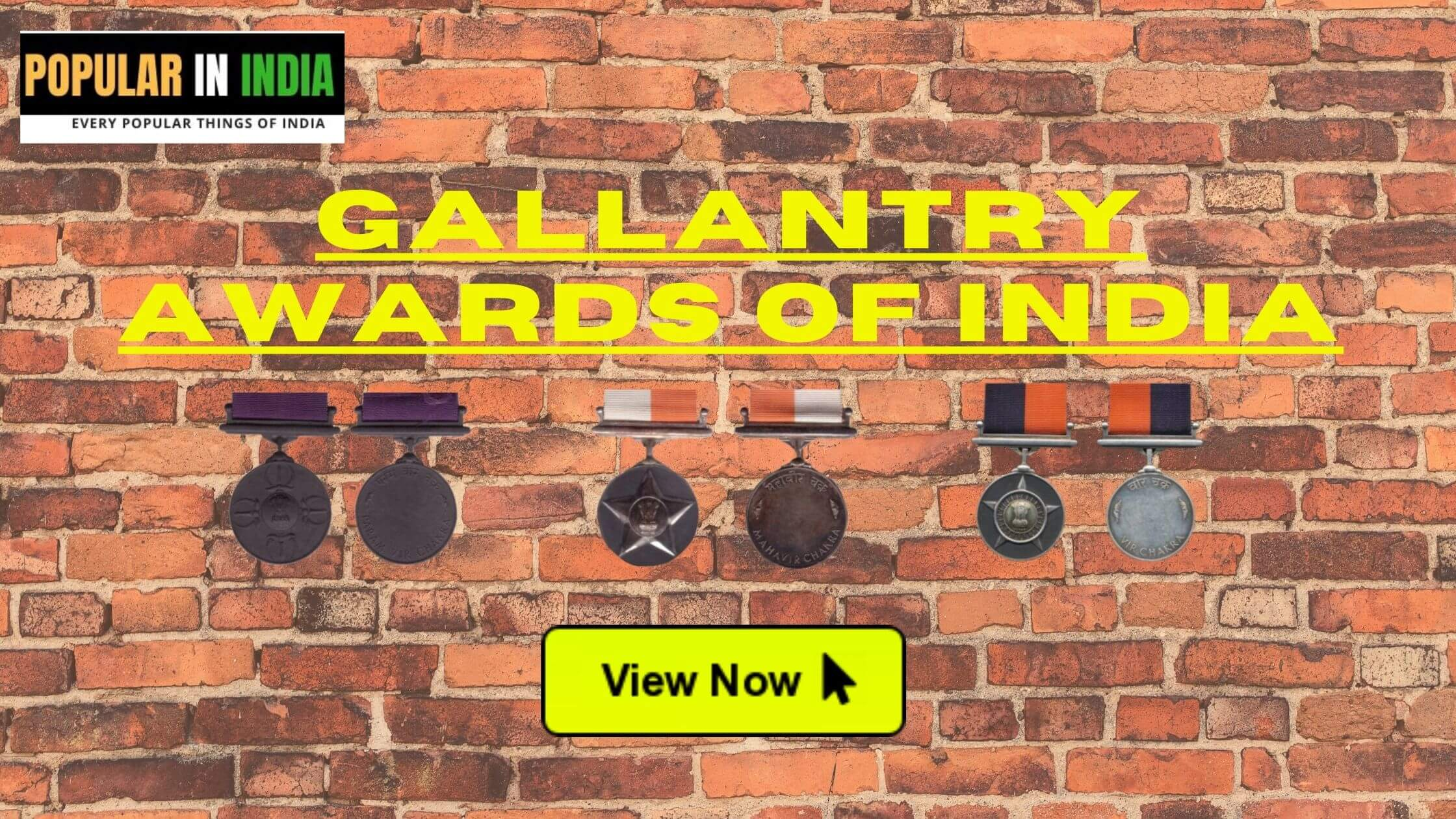 Top 3 Gallantry awards of India You Must Know Popular in India