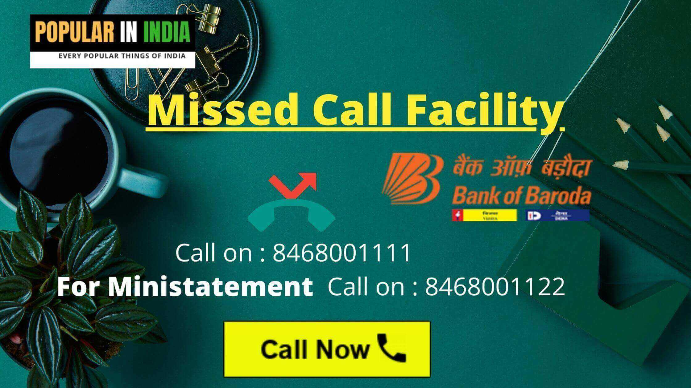 Missed Call Facility to Know Jan Dhan Bank Account