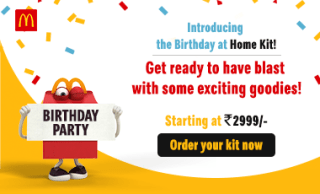 Discount for BirthDay from McD