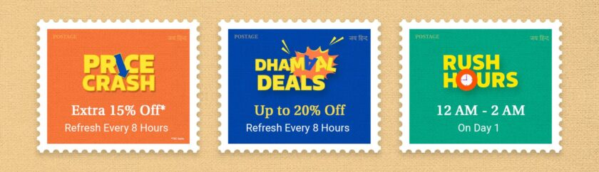 Dhamaal deals on Flipkart Big Saving Day Sale Offers and Discounts for Men